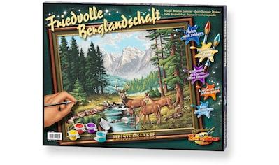 Schipper Malen nach Zahlen »Meisterklasse Premium Friedvolle Berglandschaft«, Made in... kaufen