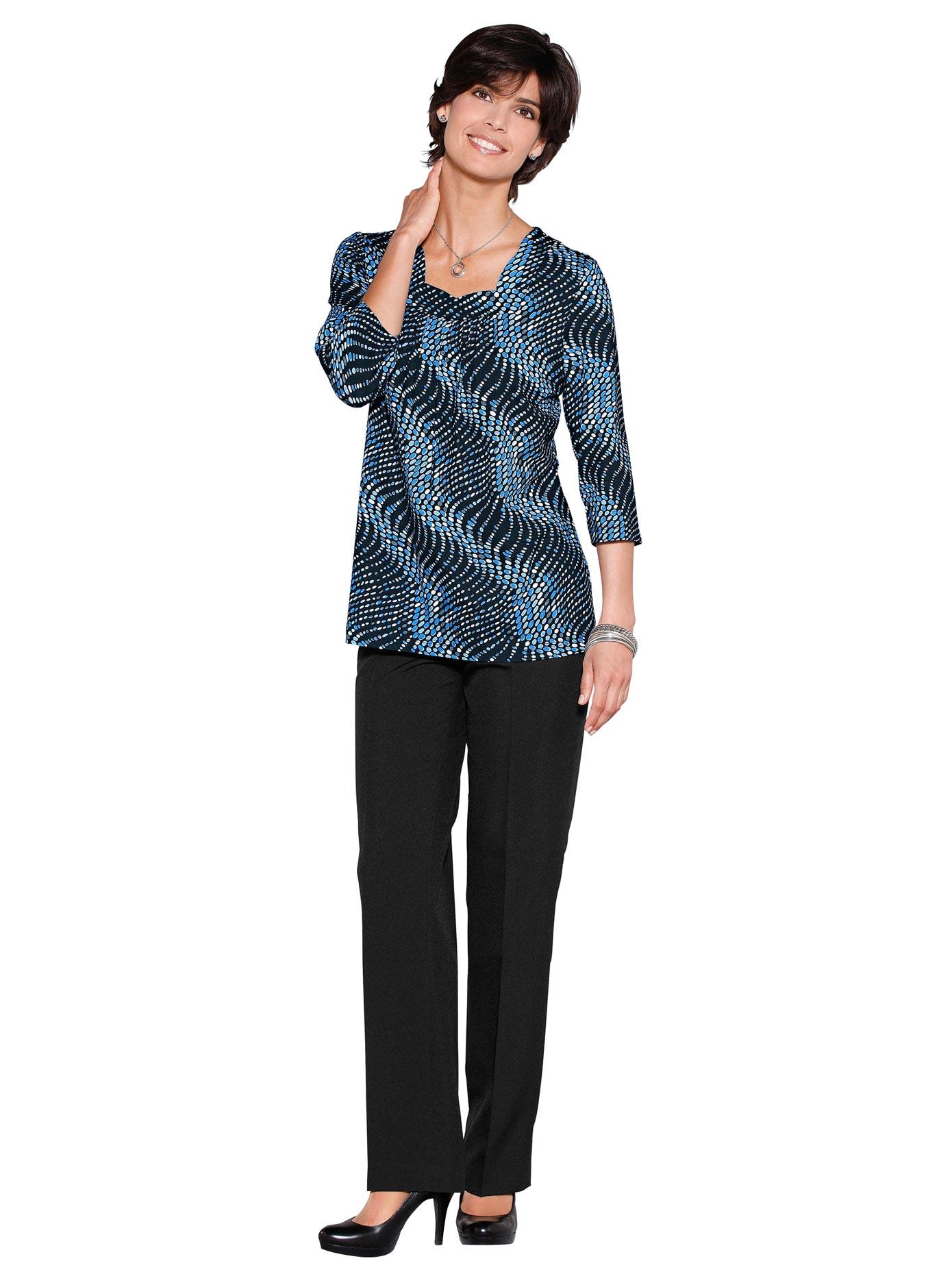 Classic Basics Tunikashirt mit modischer Raffung im Vordertei | Bekleidung > Shirts > Tunikashirts | Classic Basics