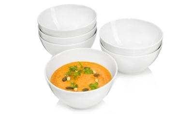 """SÄNGER Suppenschale """"Sunfort"""", Porzellan , (6 - tlg. Suppenschalen Sunfort aus Porzellan 6 teilig) kaufen"""