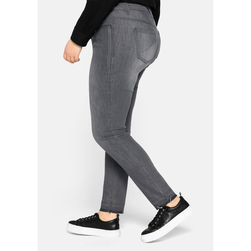 Sheego Stretch-Jeans, Skinny
