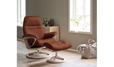 Stressless® Relaxsessel »Sunrise«, mit Signature Base, Größe M, Gestell Whitewash kaufen