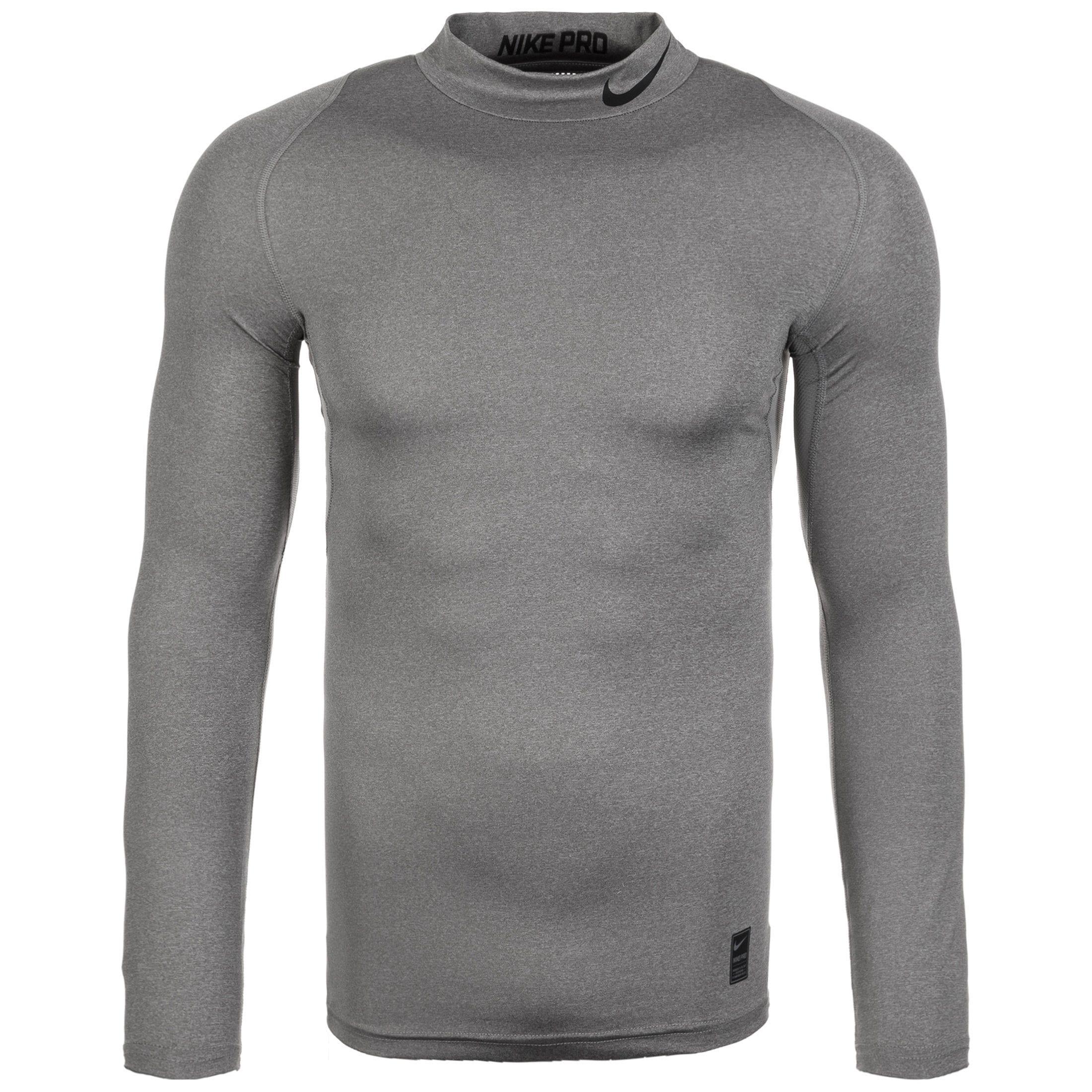 Nike Longsleeve Pro | Bekleidung > Pullover > Fleecepullover | Grau | Ab | Nike