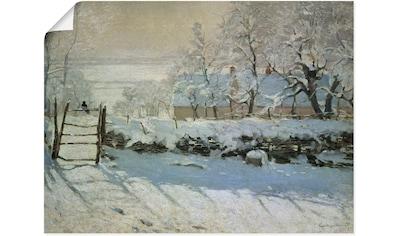 Artland Wandbild »Die Elster. 1868/69« kaufen
