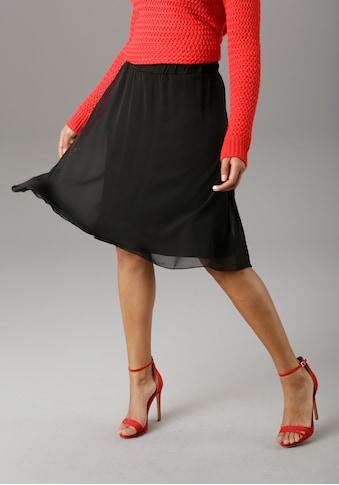 Aniston SELECTED Sommerrock, mit bequemen Gummizug - NEUE KOLLEKTION kaufen