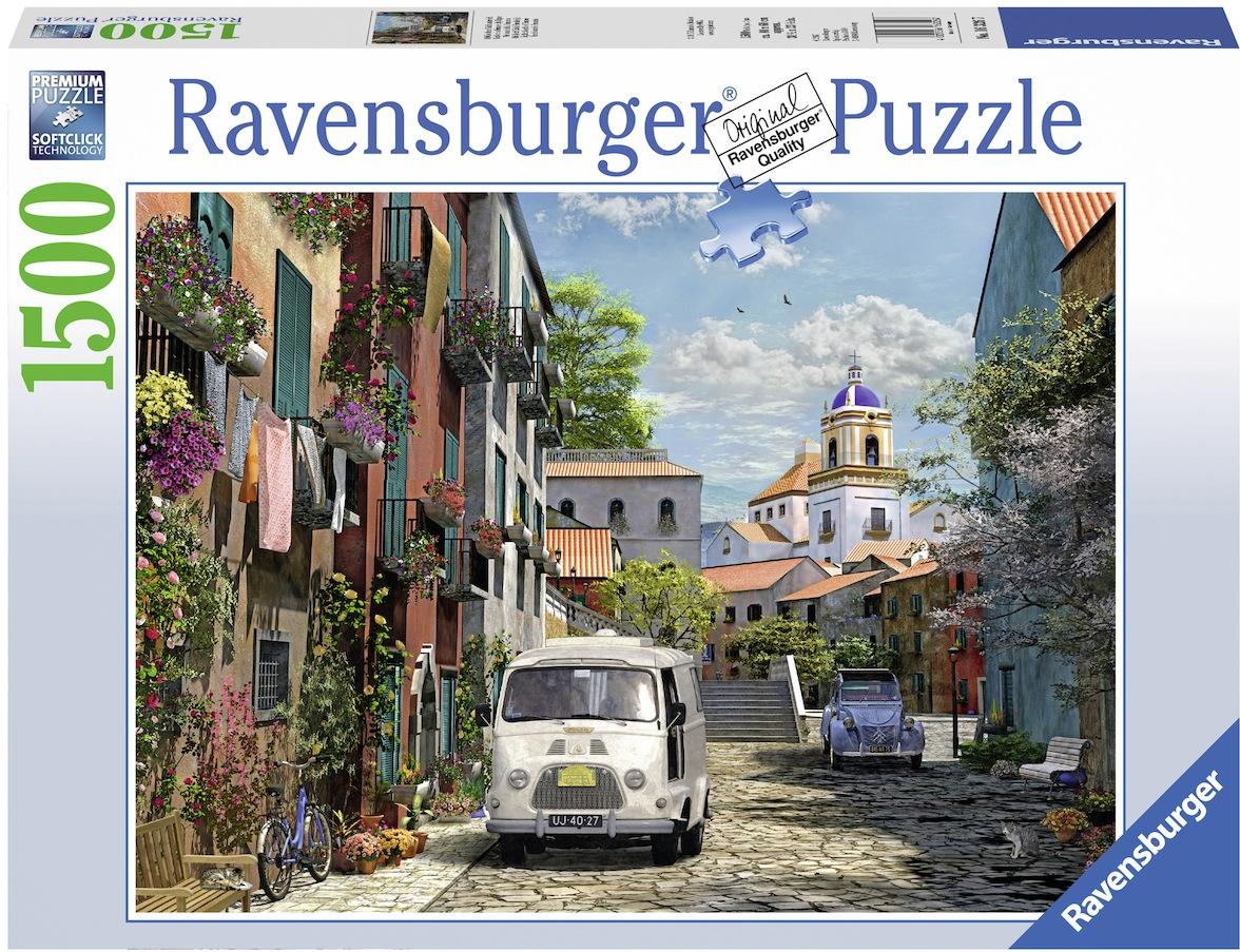 Ravensburger Puzzle Idyllisches Südfrankreich, Made in Germany bunt Kinder Ab 12-15 Jahren Altersempfehlung Puzzles
