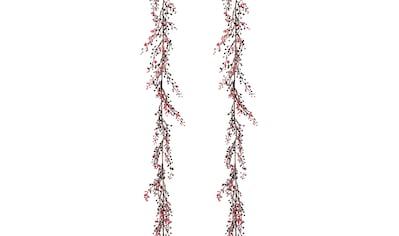 Creativ deco Kunstgirlande, mit geeister Optik, Länge 186 cm kaufen