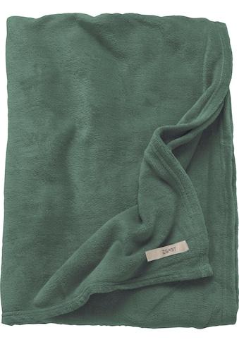Esprit Wohndecke »Mellows«, in modernen Farben kaufen