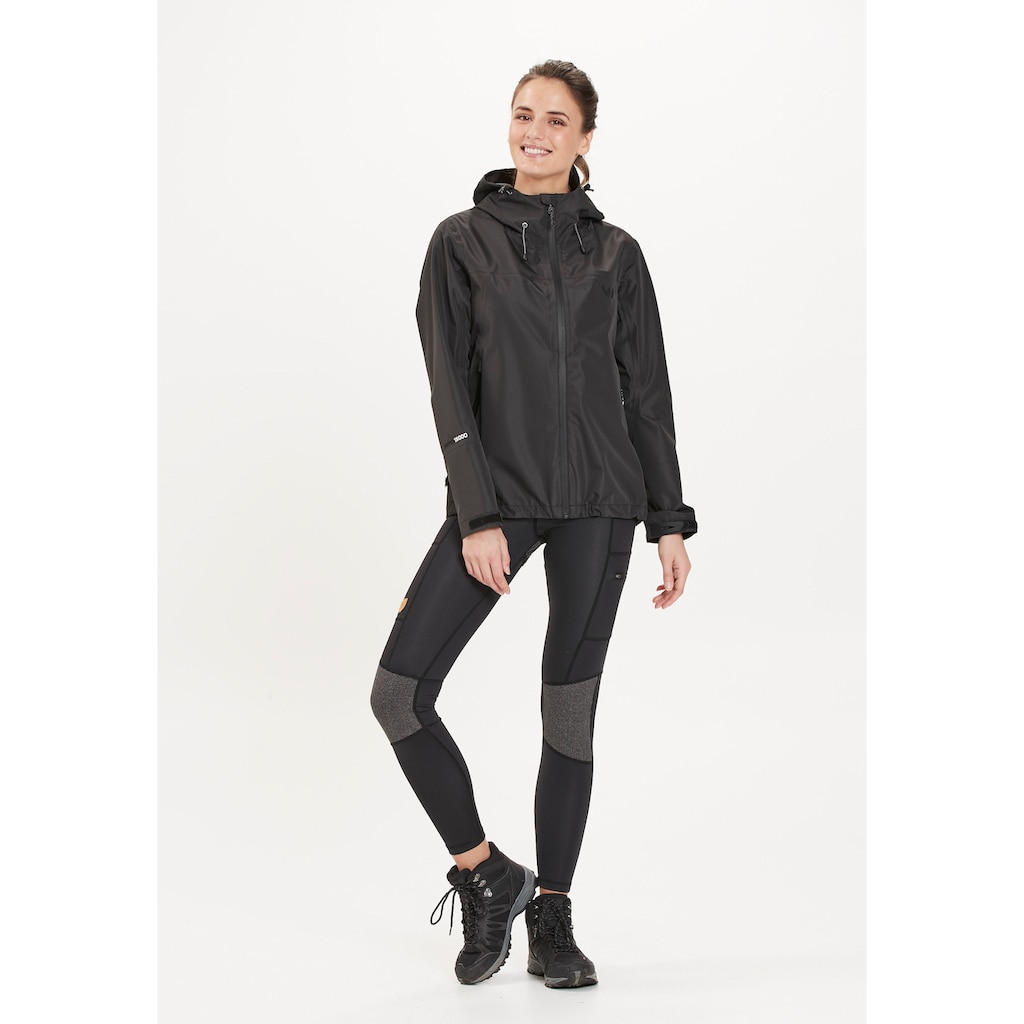 WHISTLER Softshelljacke »BROOK W Shell Jacket W-PRO 15000«, mit praktischer Kapuze
