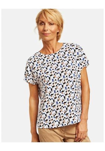 GERRY WEBER Schlupfbluse »Blusenshirt mit grafischen Punkten« kaufen