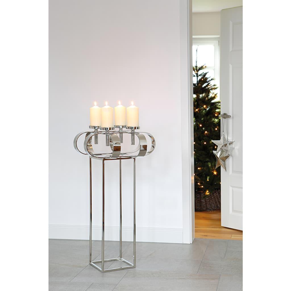 Fink Standfuß »GORDEN«, Kerzenständer für Dekokranz Gorden D. 49 cm