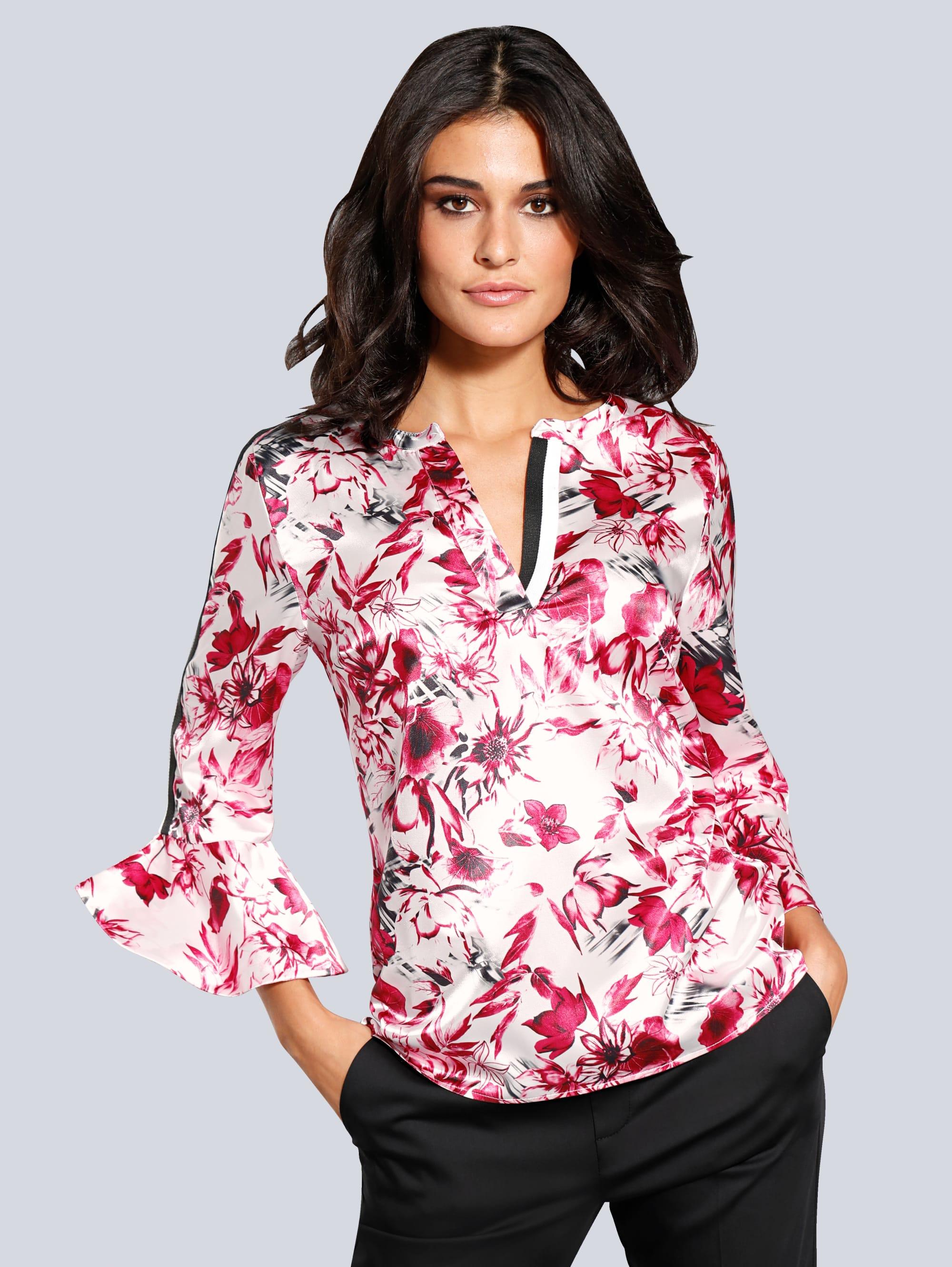 Alba Moda Bluse im angesagtem Floralprint