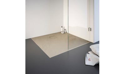 SCHULTE Duschwanne quadratisch, BxT: 1000 x 1000 mm, mit Steinstruktur kaufen