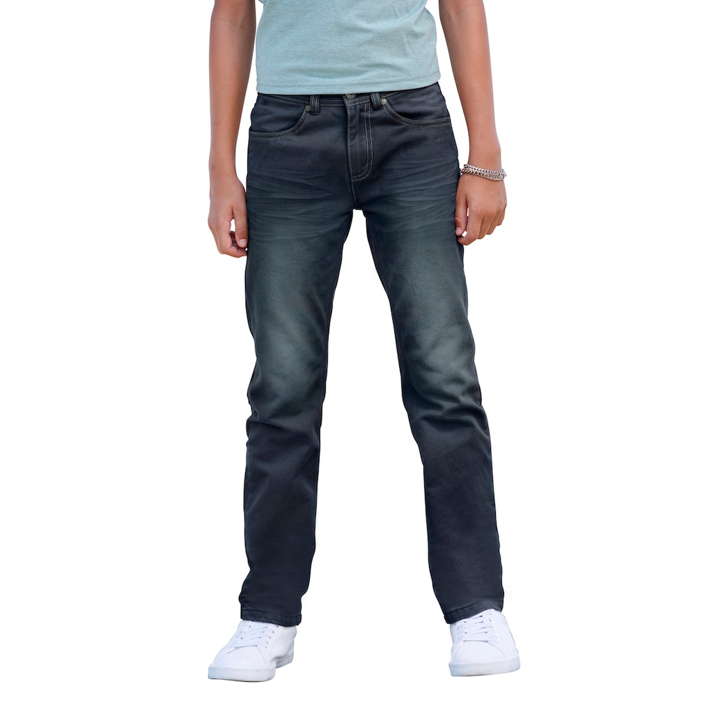Arizona Stretch-Jeans, regular fit mit geradem Bein