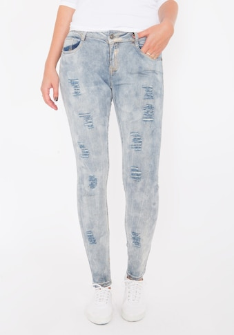 Blue Monkey Skinny - fit - Jeans »Honey 1625« kaufen
