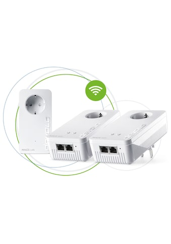 DEVOLO Netzwerk-Adapter »Magic 2 WiFi ac Next Multiroom Kit«,... kaufen
