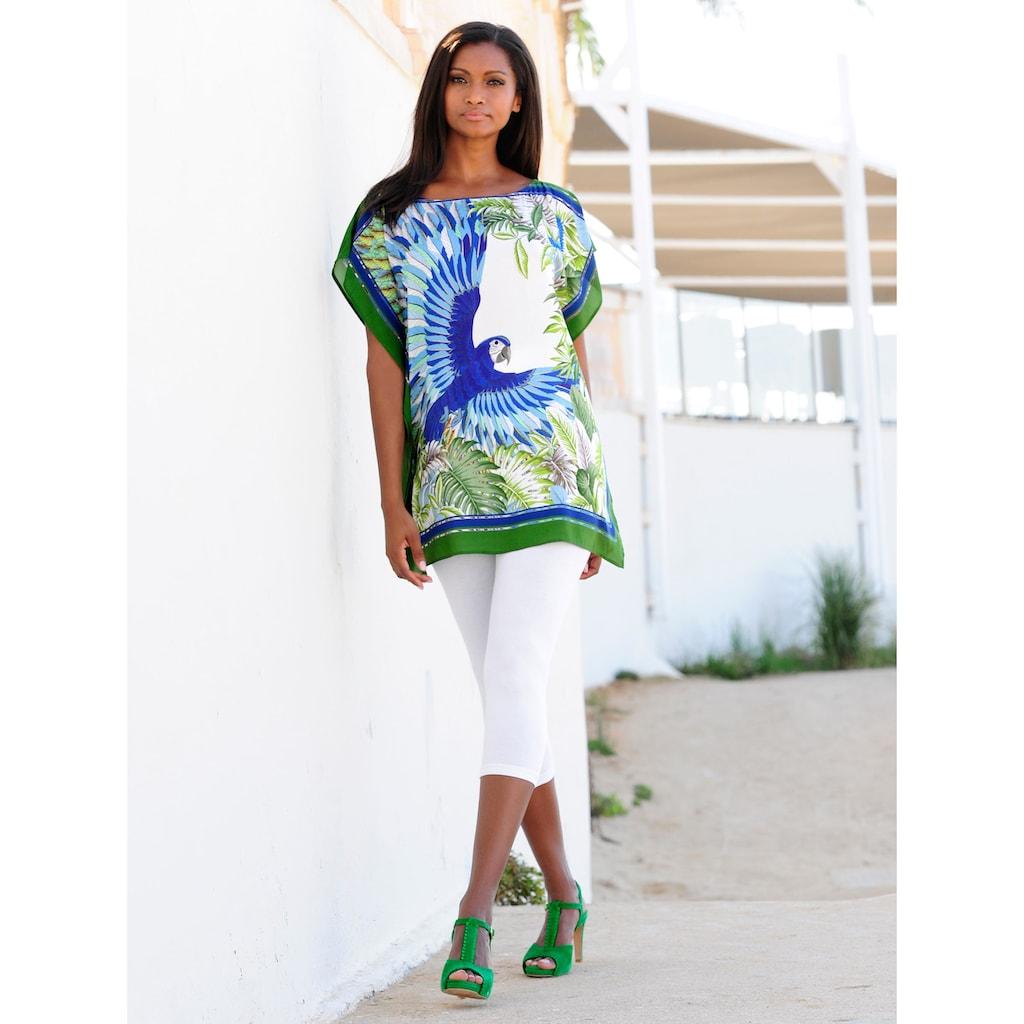 Alba Moda Strandtunika im Tücherstil