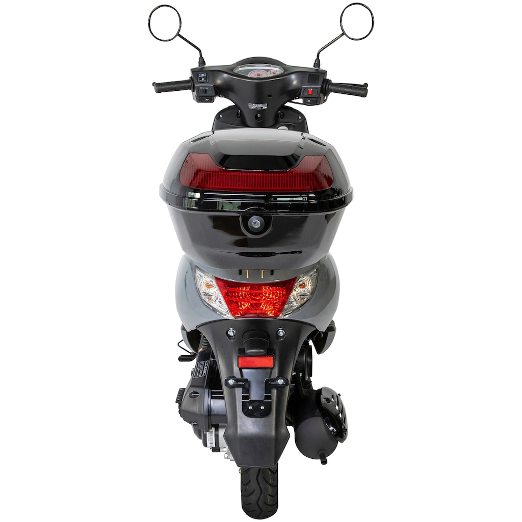 GT UNION Motorroller »Matteo«, 50 cm³, 45 km/h, Euro 5, 3 PS, mit Topcase