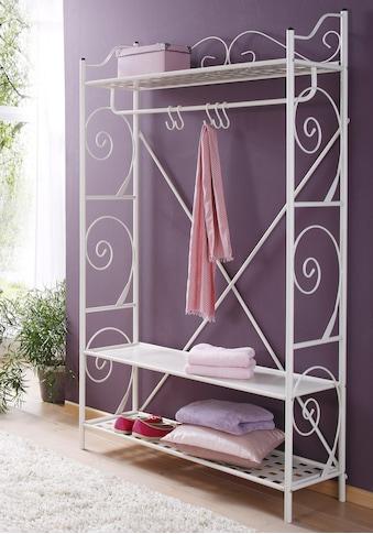 Home affaire Garderobe »Princess«, aus einem schönen Metallgestell, mit edlen... kaufen