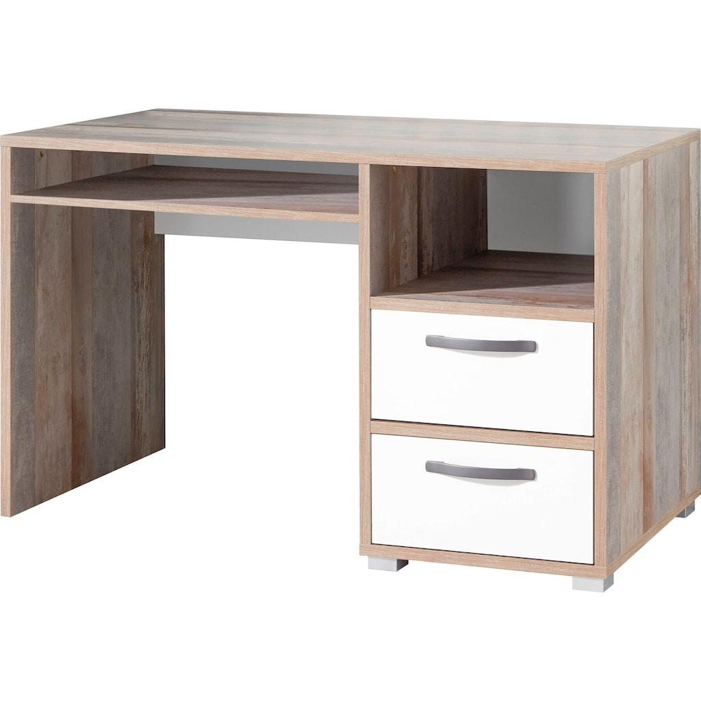 Schreibtisch »Moon«, im modernen Dekor Driftwood