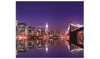"Artland Küchenrückwand ""New York Skyline"", (1 - tlg.) kaufen"