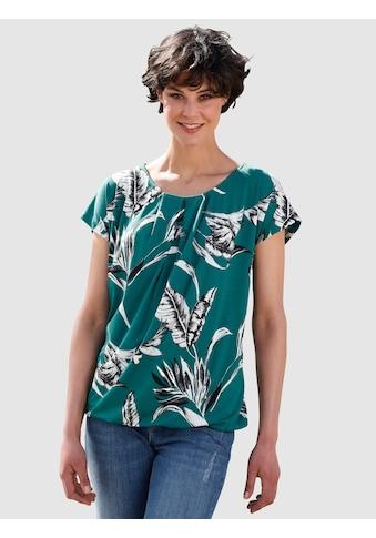 Dress In Print-Shirt, mit floralem Print kaufen
