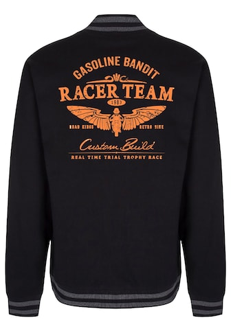GASOLINE BANDIT® College - Baseballjacke mit coolem Motiv »Racing Team« kaufen