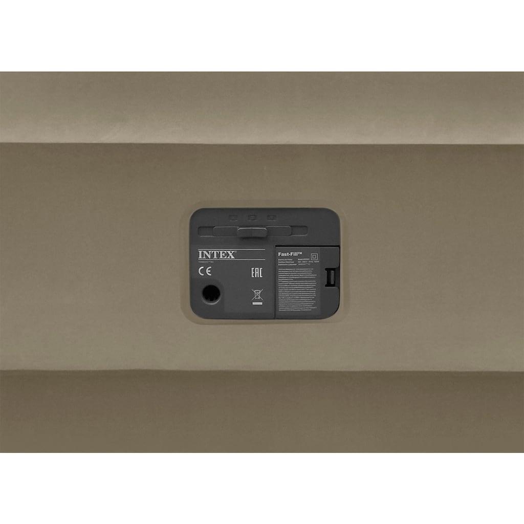 Intex Luftbett »DURA-BEAM® ThermaLux™ Airbed, QUEEN«, (Set, 2, mit Transporttasche)