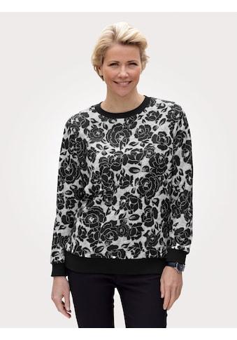 Mona Sweatshirt, mit floralem Druckmuster kaufen