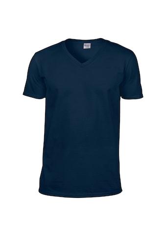 Gildan V - Shirt »Herren Soft Style T - Shirt, V - Ausschnitt, Kurzarm« kaufen