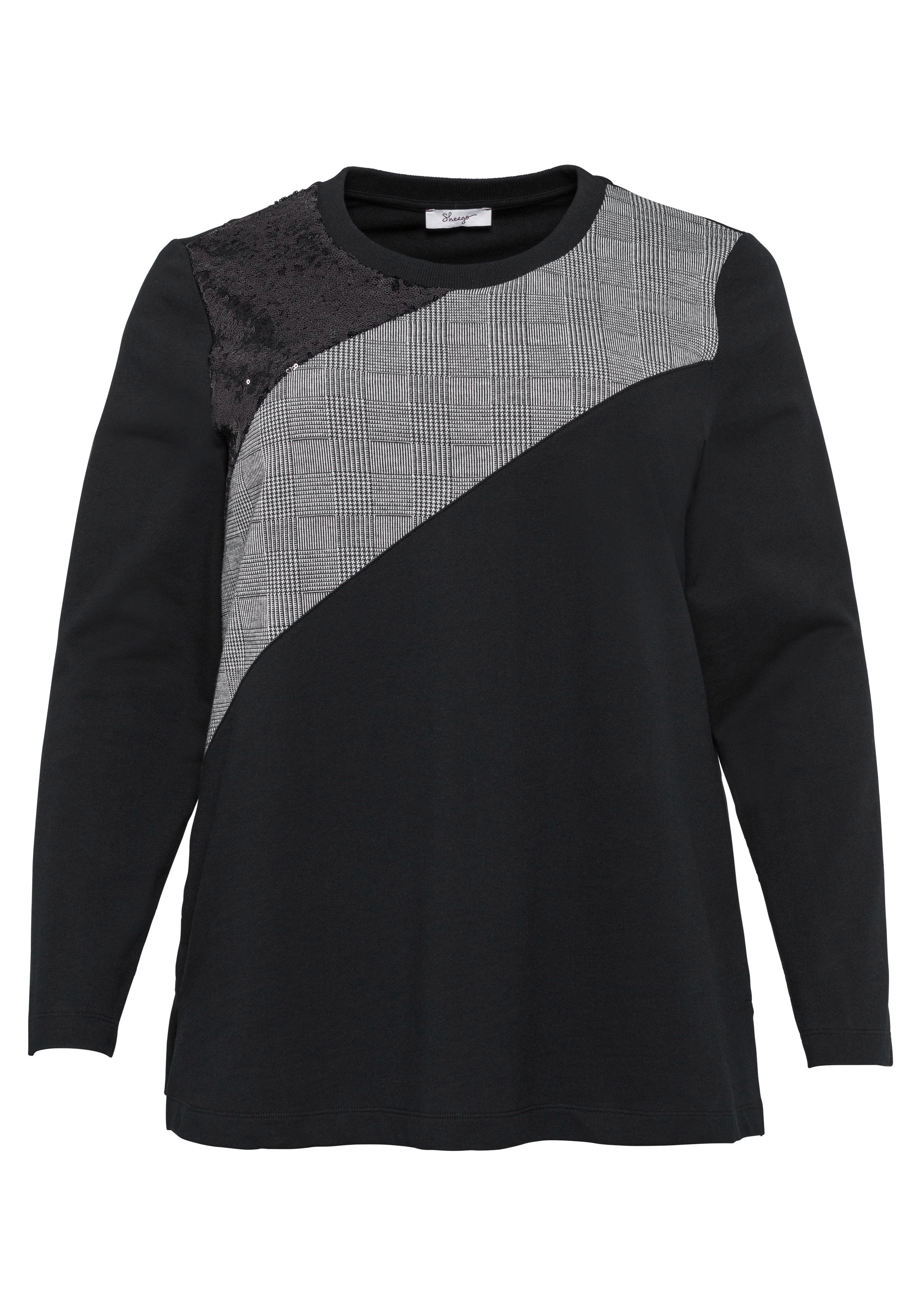 Sheego Sweatshirt | Bekleidung > Sweatshirts & -jacken > Sweatshirts | Sheego