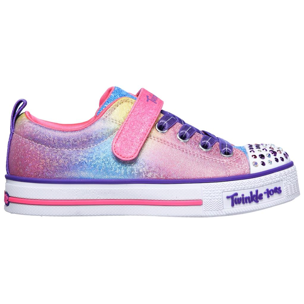 Skechers Kids Sneaker »TWINKLE LITE-SWEETS SUPPLY«, mit blinkender Zehenkappe