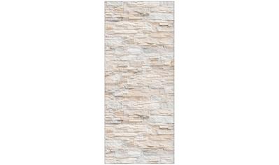 MySpotti Spritzschutz »fresh Bruchsteinwand Beige«, 90 x 210 cm kaufen