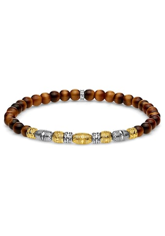 THOMAS SABO Armband »Talisman bicolor gold, A1921-966-2-L17, L19«, mit Tigeraugen kaufen