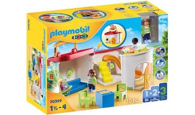 Playmobil® Konstruktions-Spielset »Mein Mitnehm-Kindergarten (70399), Playmobil 1-2-3«, Made in Europe kaufen
