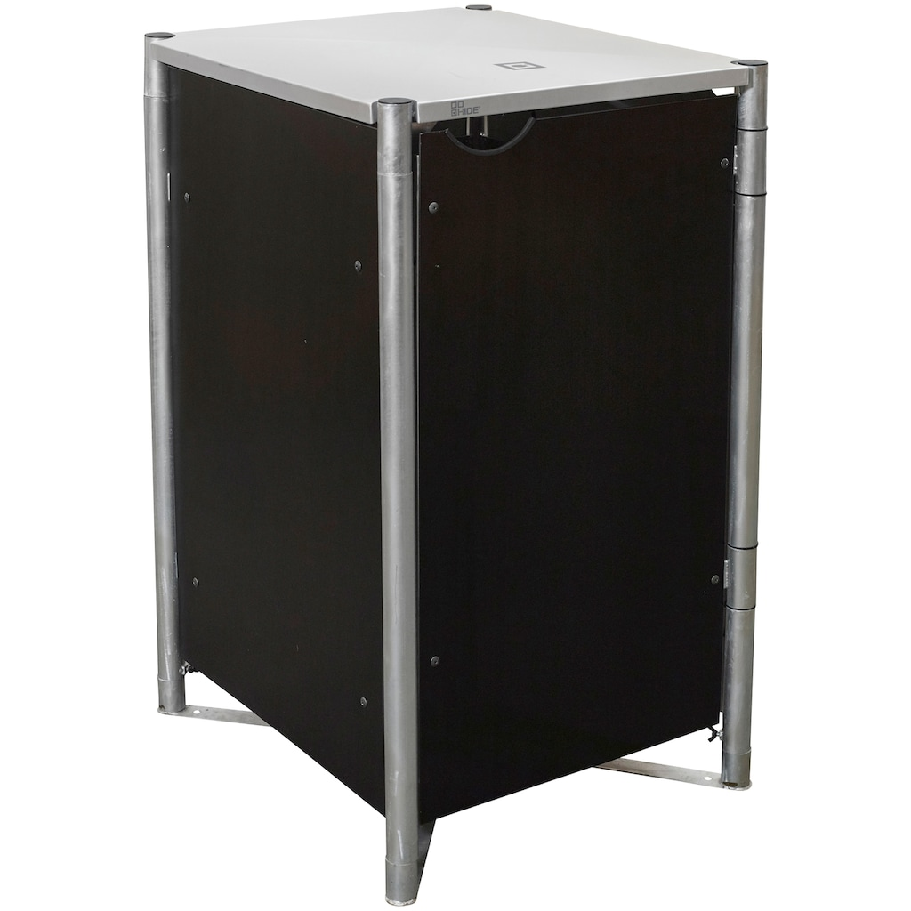 Hide Mülltonnenbox, für 1 x 120 l, schwarz