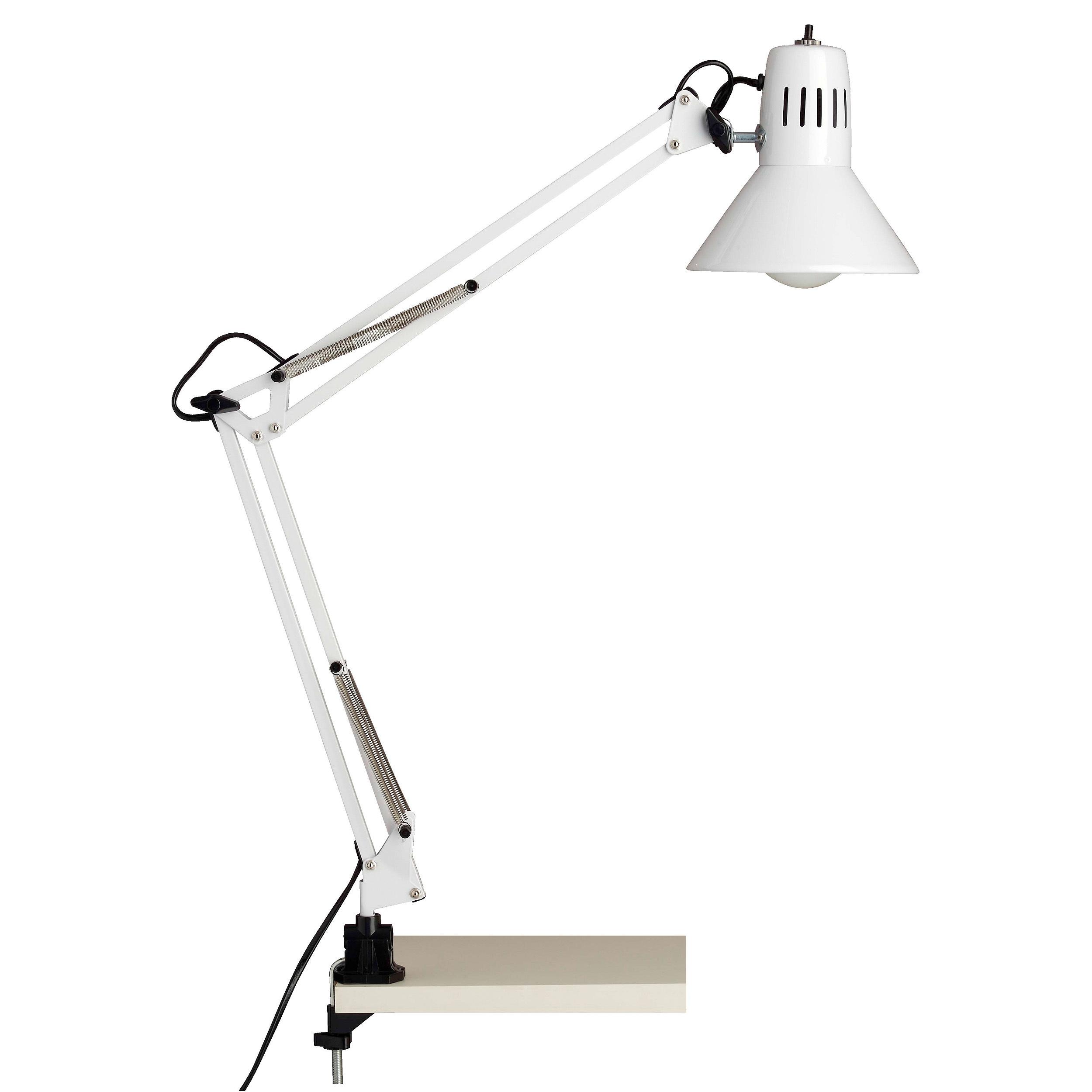 Brilliant Leuchten Hobby Schreibtischklemmleuchte weiß
