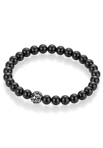 Firetti Armband »Perlen aus Achat«, mit Achat und Kristallsteinen kaufen