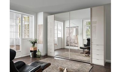 WIEMANN Dreh-/Schwebetürenschrank »Nizza«, mit Glasfront und Spiegel kaufen