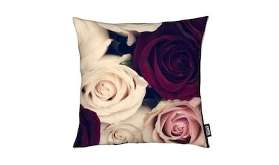 Dekokissen, »Rose Bouquet«, Juniqe kaufen