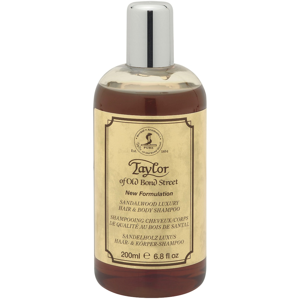 Taylor of Old Bond Street Duschgel »Dusch-/Badegel und Shampoo Sandelholz, 200 ml«