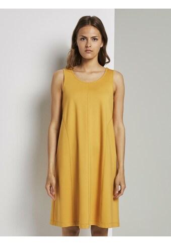 TOM TAILOR mine to five A - Linien - Kleid »Ärmelloses Jersey - Kleid in A - Linie« kaufen