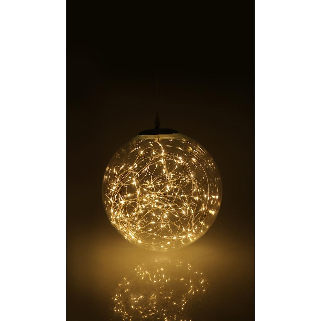 AM Design LED Dekolicht »Lichterglanz«, LED Kugel aus Glas