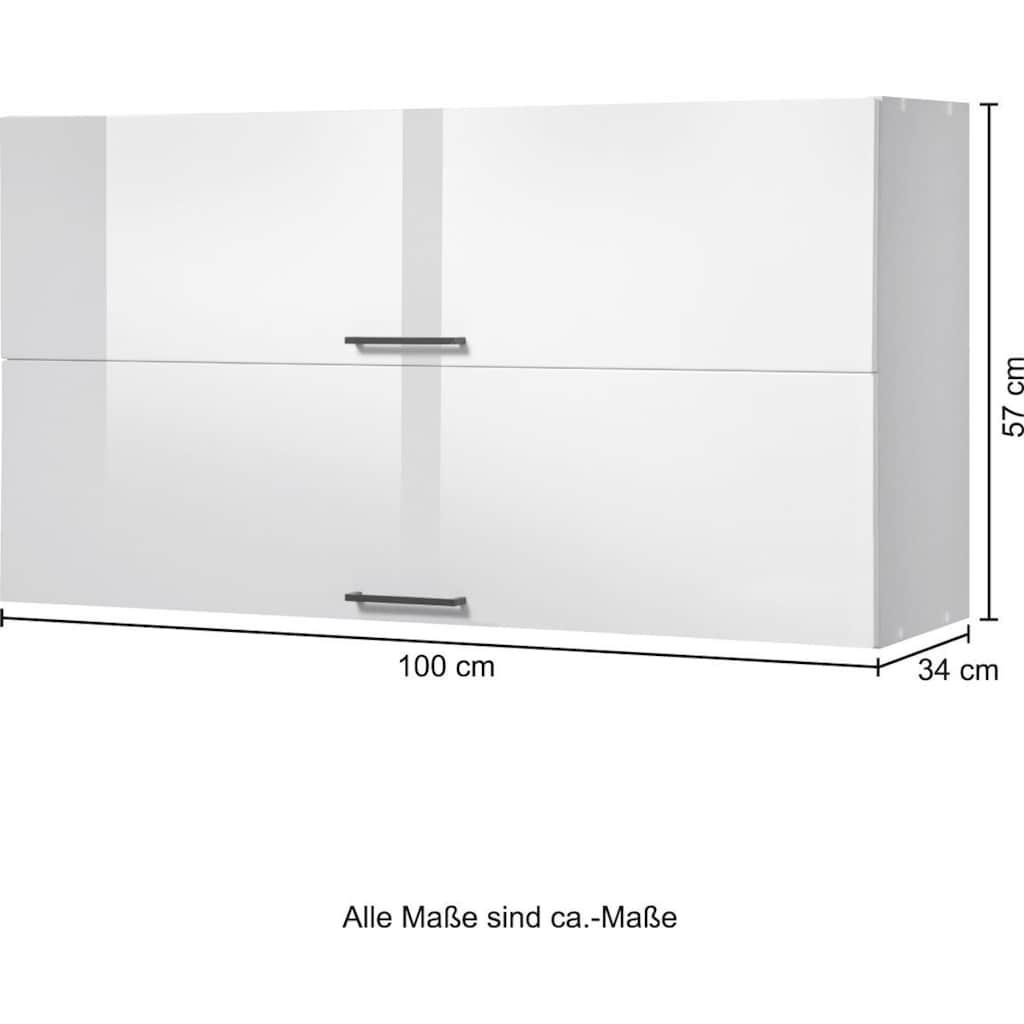 HELD MÖBEL Klapphängeschrank »Trier«, mit 2 Klappen, Breite 100 cm