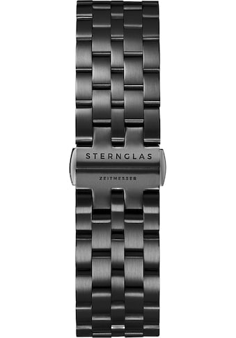 STERNGLAS Uhrenarmband »Metallband DLC schwarz, SBA00/501« kaufen