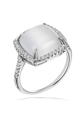 goldmaid Ring Damenring 925 Silber synth. Mondstein kaufen