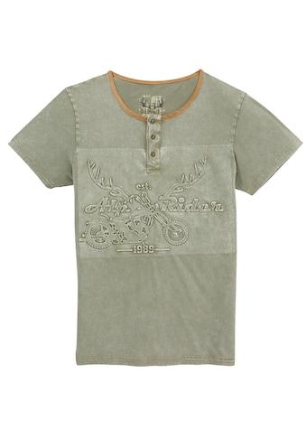 MarJo Trachtenshirt, mit Prägedruck kaufen