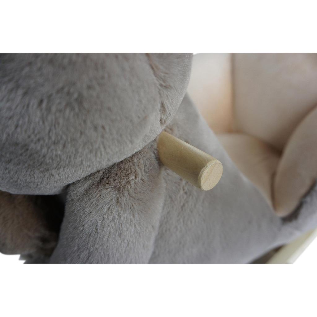 Knorrtoys® Schaukeltier »Faultier Luis«, mit Plüsch-Faultierbaby