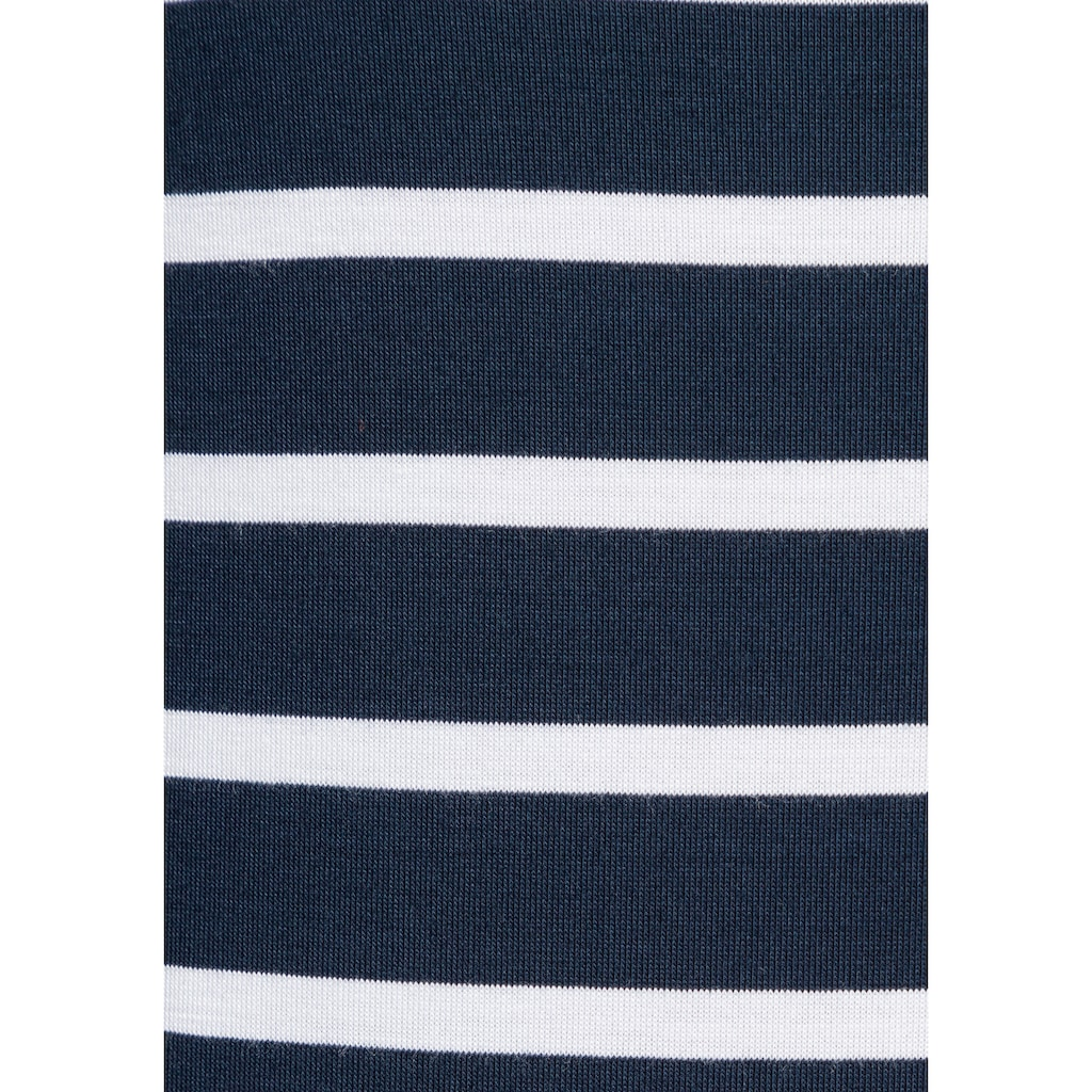 Tommy Hilfiger T-Shirt »HERITAGE BOAT NECK TEE«, im klassichem Ringeldessin