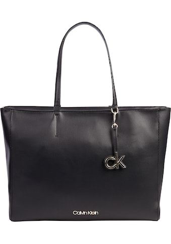 Calvin Klein Shopper, mit praktischer Reißverschluss-Mittelwand kaufen
