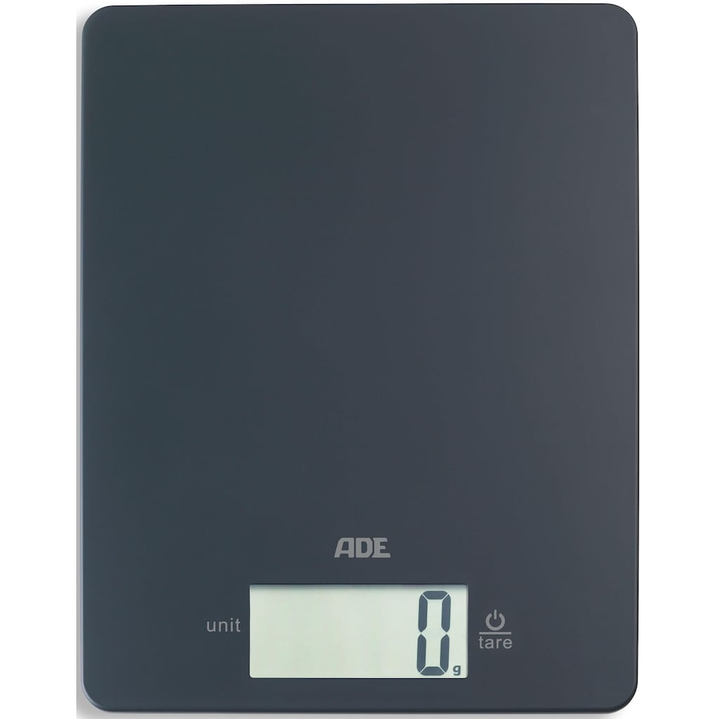 ADE Küchenwaage »KE1800 Leonie«, digitale Waage im Flat-Design, 9 mm hoch